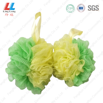 Mixture sponge smooth bath ball