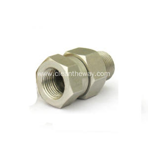 "Pressure Washer Hose 3/8"" Stainless Steel Swivel Coupler"