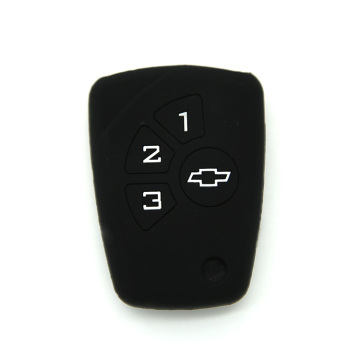 Ji bo Cover of Silicone 3 Key Car Key Key