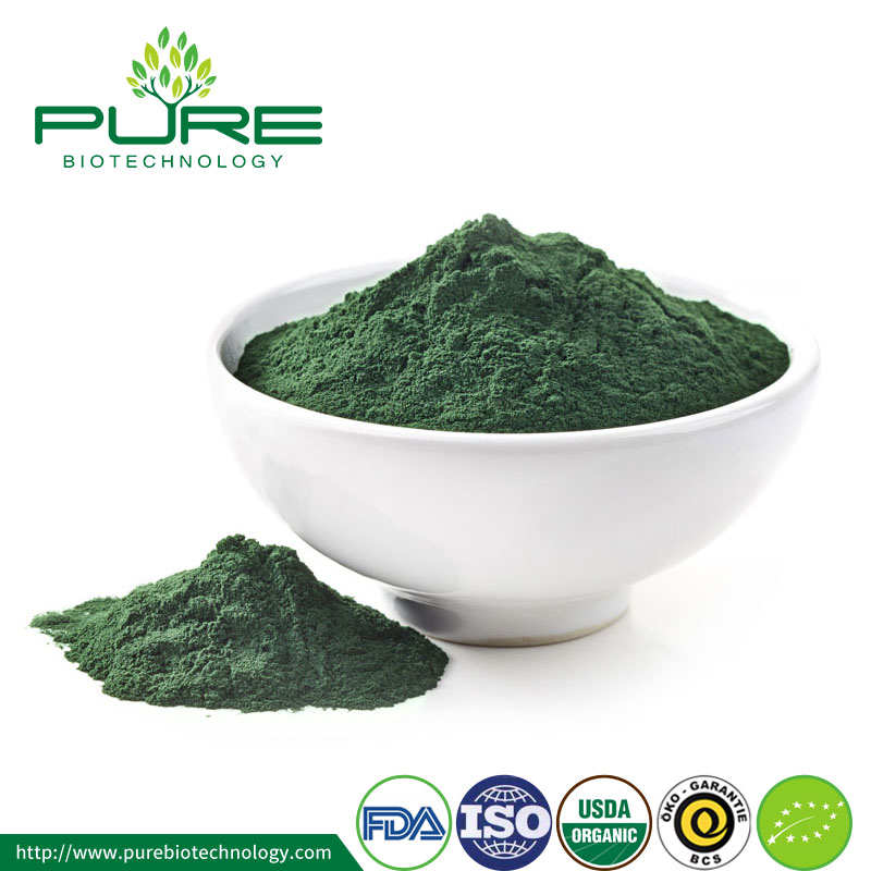 Certified Organic Spirulina Powder Top Grade Health Food Wholesale 1