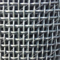 Aluminum clad steel crimped wire net