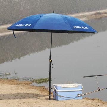 Straight fishing application umbrella
