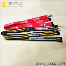 Cell phone flat lanyards with logo custom