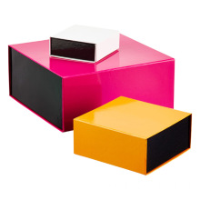 Colorful Book Shapes Gift Boxes With Magnetic Lids