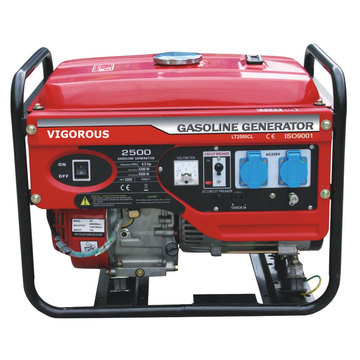 Hot Sale 6.5 KW Gasoline Power Generator