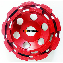 China for Double Row Abrasive Cup Wheel 115mm Double Row Cup Wheel supply to South Africa Manufacturer