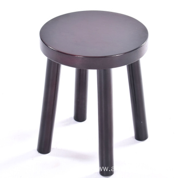 Old Chinese Traditional Solid Wood Children Leisure Ottoman Low Square Stool, 4 Legs Wooden Stool