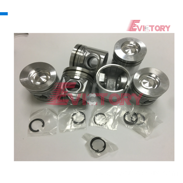 Excavator parts F6M2011 piston connecting rod crankshaft