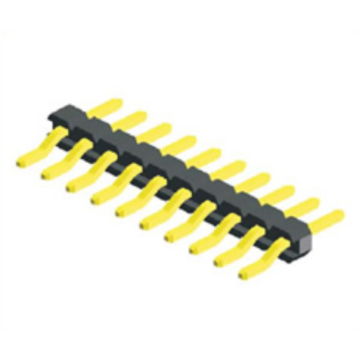 High Quality for Pin Header Connector,1.27Mm Male Header,1.27Mm Male Header Pins Manufacturers and Suppliers in China 1.27mm Pin Header Angle SMT Type Single Row export to Equatorial Guinea Exporter
