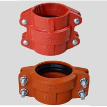Reliable for China Grooved Pipe Couplings,Grooved Rigid Coupling,Grooved Couplings,Grooved Shouldered Coupling Manufacturer and Supplier Ductile Iron Grooved HDPE Coupling supply to Portugal Wholesale