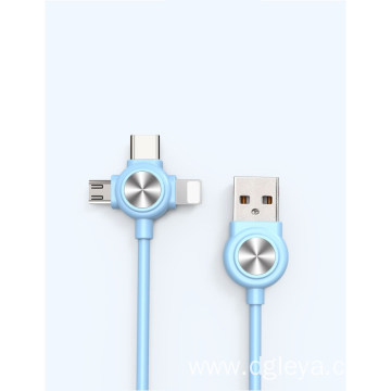 one drag three fast usb cable