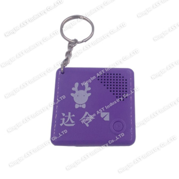 Musical Keychain, Recordable Keychains, Voice Recorder Keychain