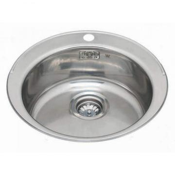 Stainless Steel Sink Single Small Round Sink