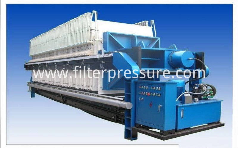 Sewage Plate Frame Filter Press 7