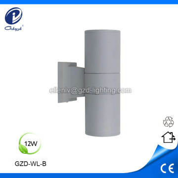 Up and down 2X12W outdoor led wall light