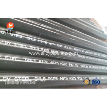 Alloy Steel Seamless Pipe ASTM A335 P22