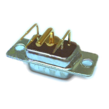 Power D-SUB 5W1 Right Angle PCB Plug