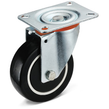 13 Series PU Flat Bottom Casters