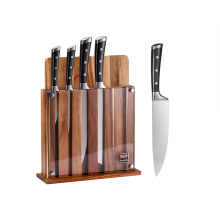 Garwin 7pcs kitchen knife set with multifunction block