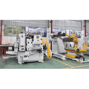 Compact Decoiler And Feeder Straighteners Press Feed Systems