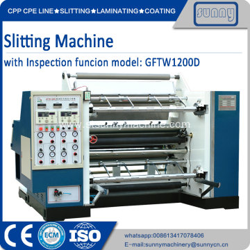 China for Automatic Film Slitting Machine Paper Slitting Machine slitters export to India Manufacturer