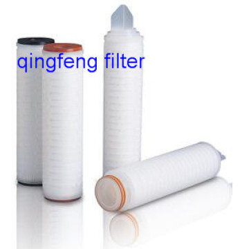 High Flow Rate Pleated PVDF Filter Cartridge