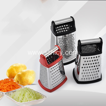 Stainless steel four-sided universal grater