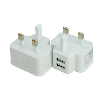 UK plug usb phone fast travel charger 5V2A