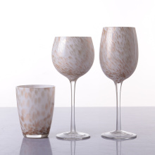 Customized Glass Goblet Blown Long Stem Wine Glass
