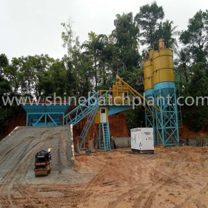 60 Mobile Ready  Concrete Mix Plant