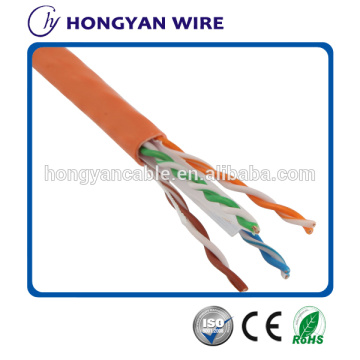 Goods high definition for Cat 6 Network Cable Pass Fluke Test high speed 4p full copper UTP Cat6 Cable export to Belarus Factory