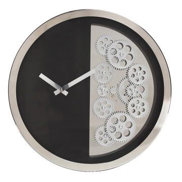 Hot-selling attractive for Luxury Wall Clock 16 inches round wall clock hanging export to Armenia Supplier