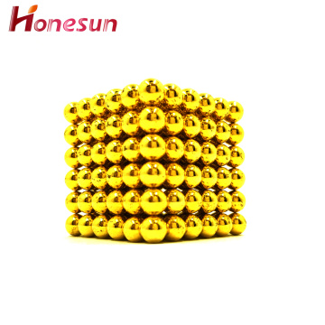 Colorful Magical Construction Neodymium Toy Magnet