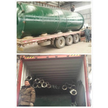 Supply for Tyre Pyrolysis Equipment environmental 5-8 years life used tire pyrolysis machine export to Italy Manufacturers