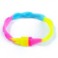 Twist multicolore Silicone énergie bracelet Glow In The Dark