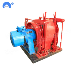 electric scrapper winch for underground mining