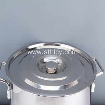 304 Bulk Capacity Padded Stainless Steel Soup Pails