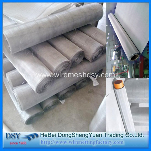 304L Stainless Steel Wire Plain Weaving Mesh Screen