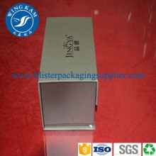 Leading for Square Shape Paper Box Packaging Silvery Printing Paper Box Packaging export to South Korea Supplier