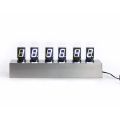 Nixie Tube Digital Table Clock Metal Base
