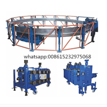 spiral grain steel granular silo making machine