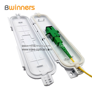1 Port FTTH Fiber Optic Drop Cable Protection Box