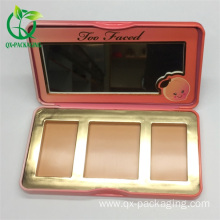 Makeup eyeshadow palette box