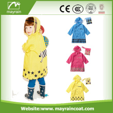 Animal Shape Hood Polyester Raincoat