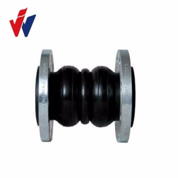 Hot-selling for Rubber Connector dual Sphere EPDM expansion rubber bellow with flange supply to Russian Federation Factory