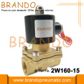 DN15 Brass Body Solenoid Valve For Water-Treatment 2W160-15