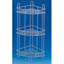 Cheap for 2 Tier Bathroom Shelf Corner Coated Shower Caddy supply to Spain Manufacturer