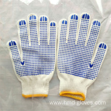 high quality cotton knitted gloves