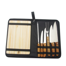 7pcs barbecue tool set in zipper bag