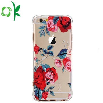 Printed Flower/Lip Shape Printed TPU Phone Case